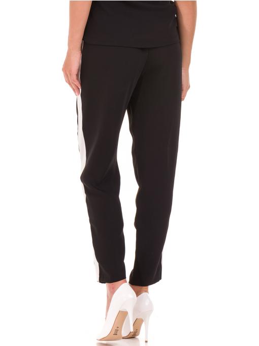 Дамски панталон ZANZI с ластик 1297 - черен B