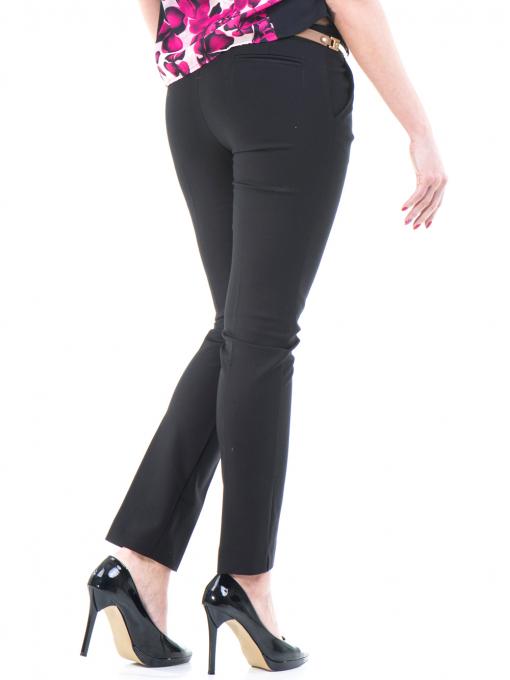 Дамски панталон ZANZI с колан 21193 - черен B