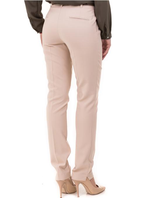 Дамски елегантен панталон ZANZI с колан 51193 - светло бежов B