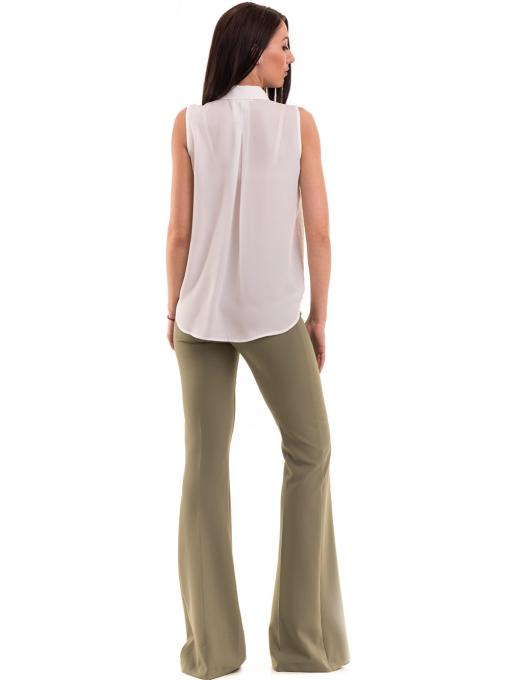 Дамски чарлстон панталон ZANZI 51245 - цвят каки E