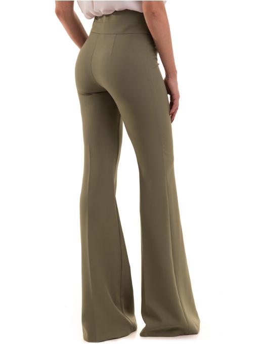Дамски чарлстон панталон ZANZI 51245 - цвят каки B
