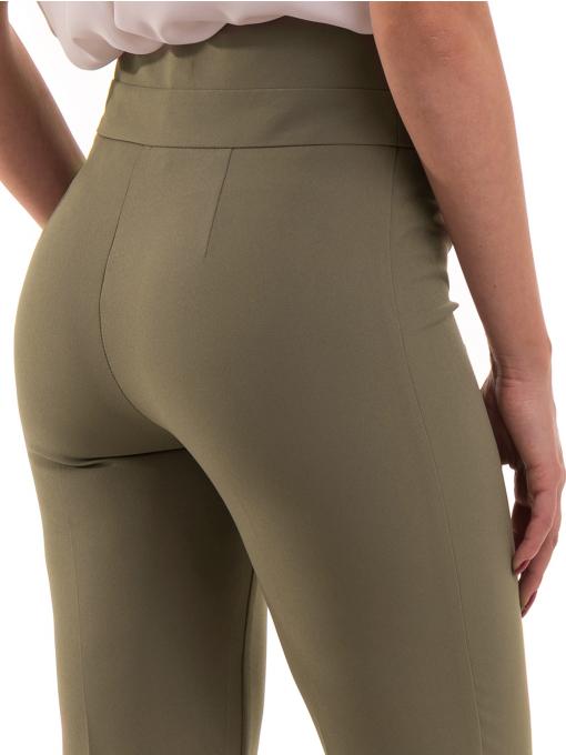 Дамски чарлстон панталон ZANZI 51245 - цвят каки D1