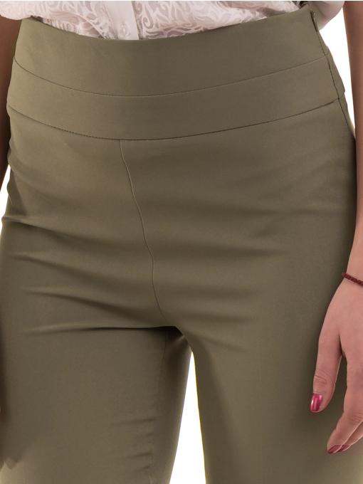 Дамски чарлстон панталон ZANZI 51245 - цвят каки D