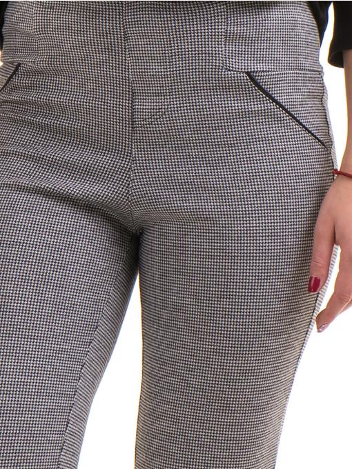 Фигурален клин с декоративен джоб STAMINA 088 - сив D