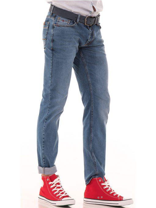 Мъжки класически дънки ELECTRA 5107 - деним