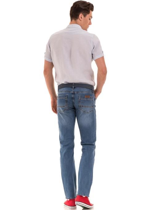 Мъжки класически дънки ELECTRA 5107 - деним E