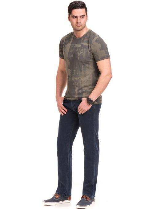 Класически мъжки дънки ELECTRA 6105 - тъмен деним C