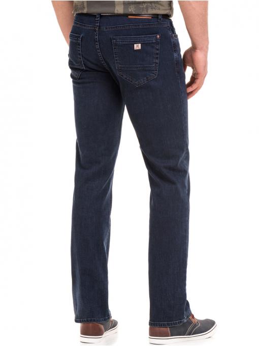Класически мъжки дънки ELECTRA 6105 - тъмен деним B