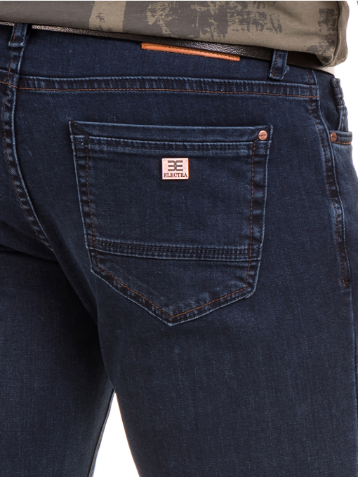 Класически мъжки дънки ELECTRA 6105 - тъмен деним D