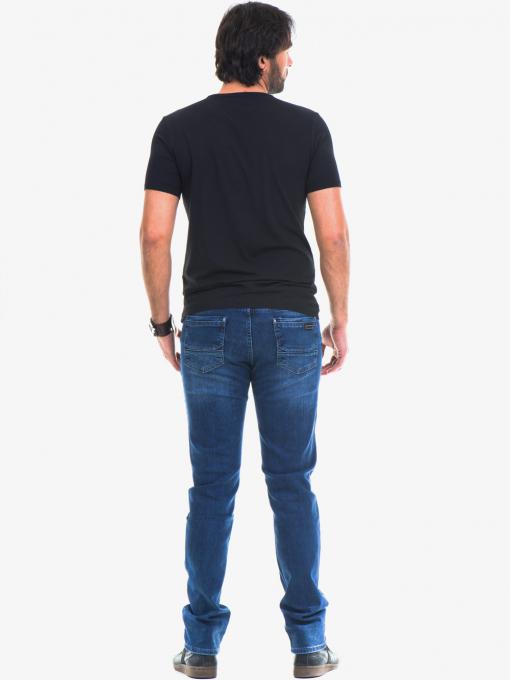 Мъжки класически дънки ELECTRA 7349 - тъмен деним E