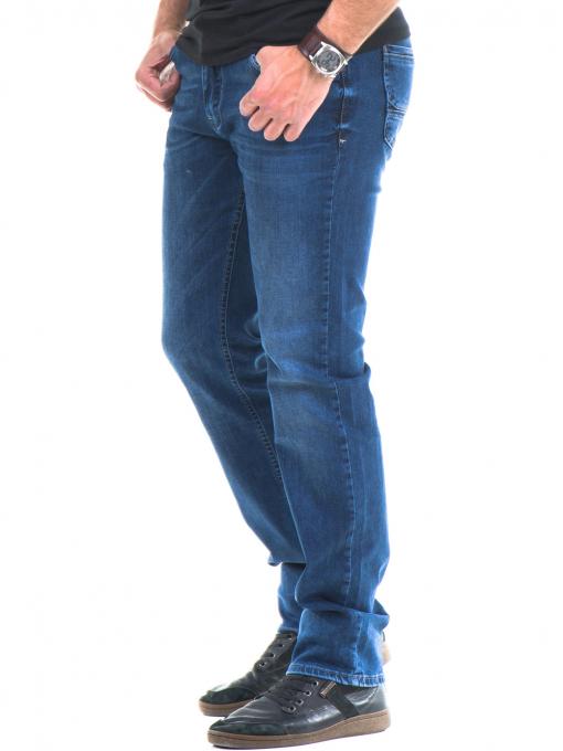 Мъжки класически дънки ELECTRA 7349 - тъмен деним