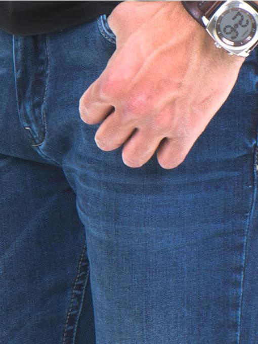 Мъжки класически дънки ELECTRA 7349 - тъмен деним D