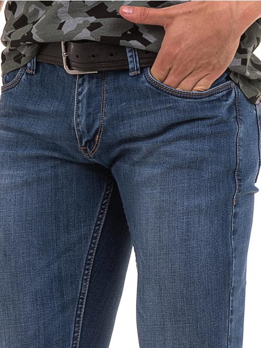 Мъжки класически дънки LACARINO 3738 - деним D