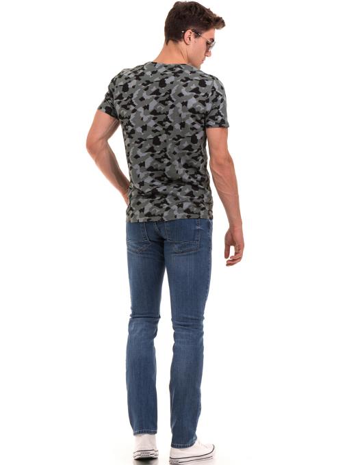 Мъжки класически дънки LACARINO 3738 - деним E