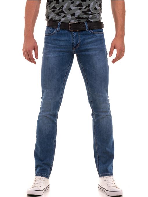 Мъжки класически дънки LACARINO 3738 - деним