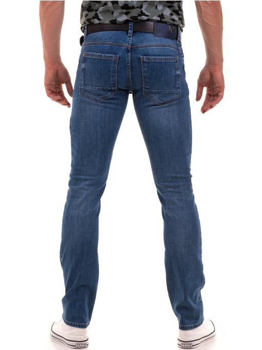 Мъжки класически дънки LACARINO 3738 - деним B