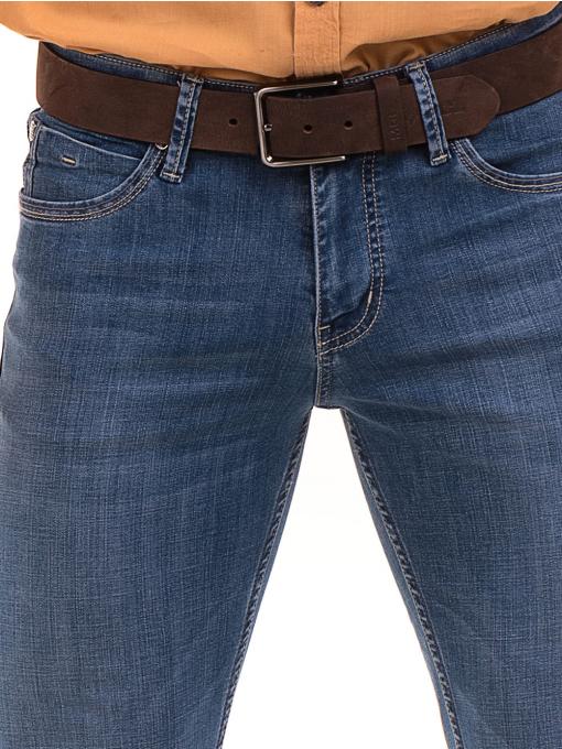 Мъжки дънки LACARINO 3793 с права кройка - деним D