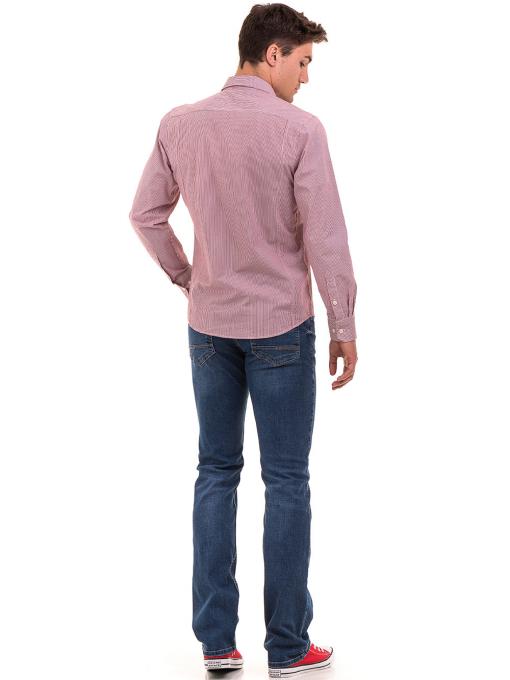 Мъжки класически дънки LACARINO 8303 - деним E