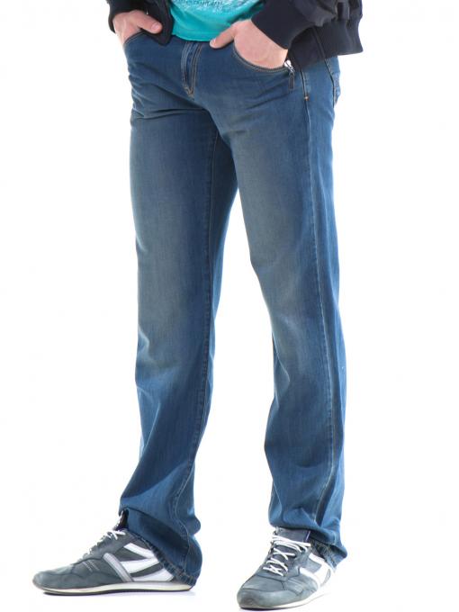 Класически мъжки дънки VIGOSS 70063 - тъмен деним