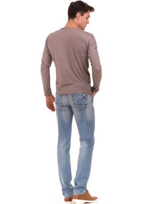Мъжки класически дънки VIGOSS 70592 - светъл деним E