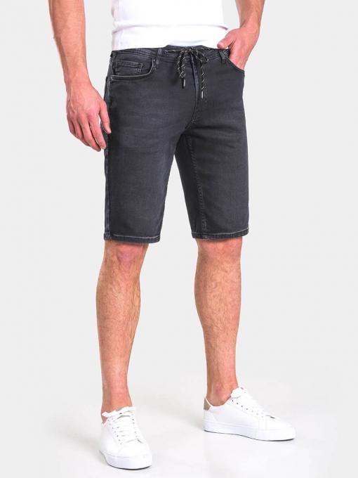Мъжки дънкови бермуди 13087 INDIGO Fashion