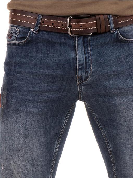 Мъжки дънкови бермуди ELECTRA 15101 - деним D