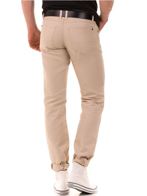 Класически мъжки панталон LACARINO 1022 - светло бежово B
