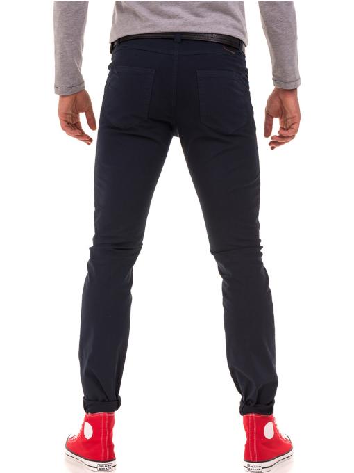 Мъжки спортен панталон XINT 415 - тъмно син B