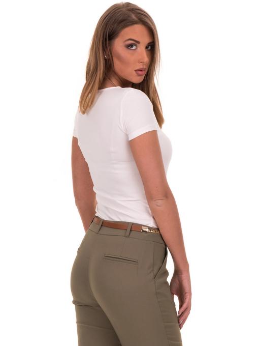 Дамска едноцветна тениска STAMINA 111 - екрю B