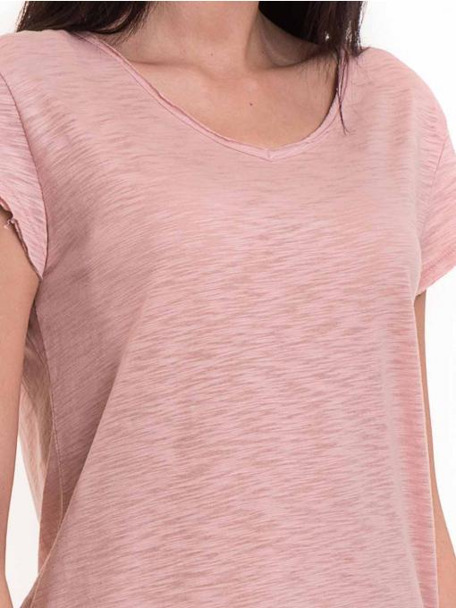 Дамска тениска  XINT свободен модел 177 - розова D