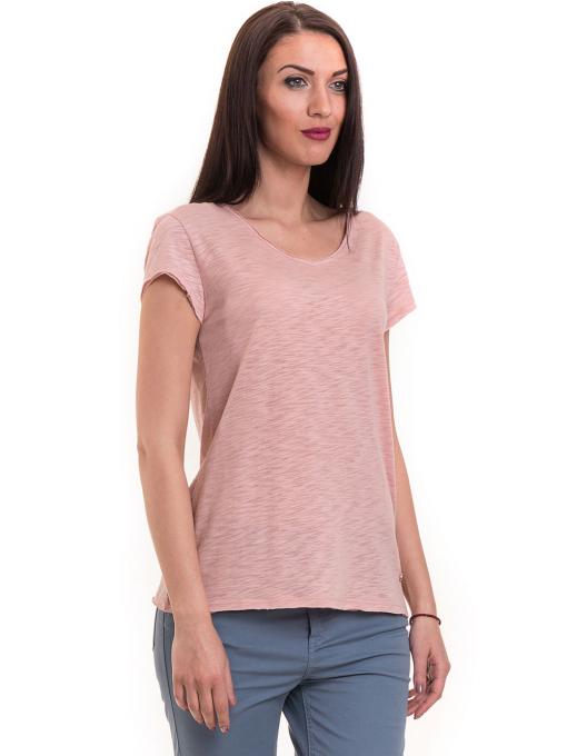Дамска тениска  XINT свободен модел 177 - розова