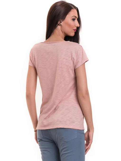 Дамска тениска  XINT свободен модел 177 - розова  B