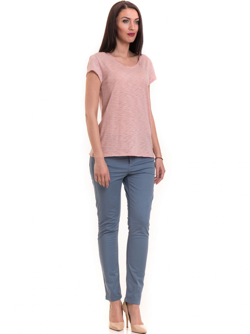 Дамска тениска  XINT свободен модел 177 - розова C