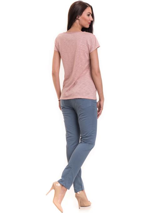 Дамска тениска  XINT свободен модел 177 - розова E