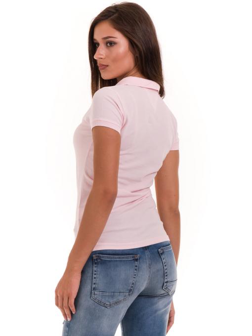Дамска блуза с яка JOGGY GIRLS 4003 - розова B
