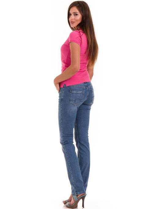 Дамска блуза с яка JOGGY GIRLS 4003 - тъмно розова E