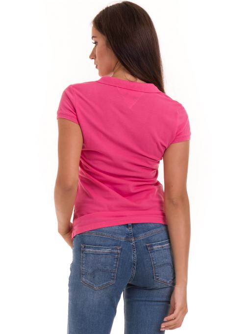 Дамска блуза с яка JOGGY GIRLS 4802 - тъмно розова B