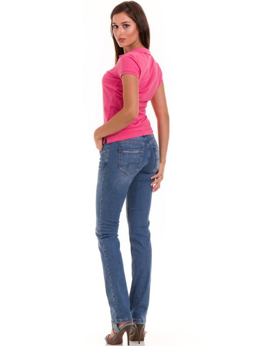 Дамска блуза с яка JOGGY GIRLS 4802 - тъмно розова E