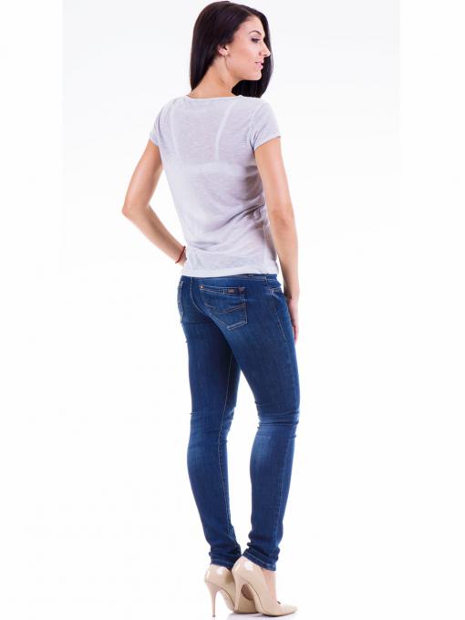 Дамска блуза с щампа JOGGY GIRLS 4890 - сива E