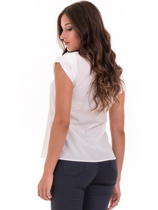 Дамска елегантна блуза JOVENNA 22462 -  цвят екрю B
