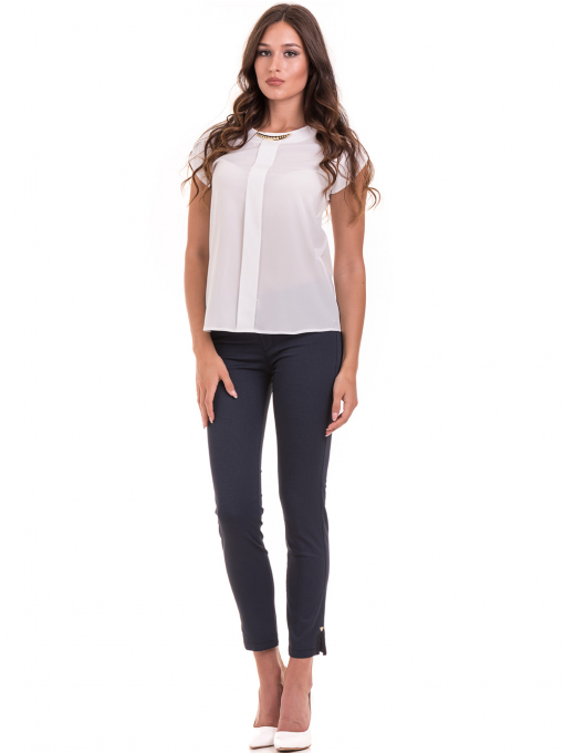 Дамска елегантна блуза JOVENNA 22462 -  цвят екрю C
