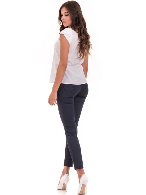 Дамска елегантна блуза JOVENNA 22462 -  цвят екрю E