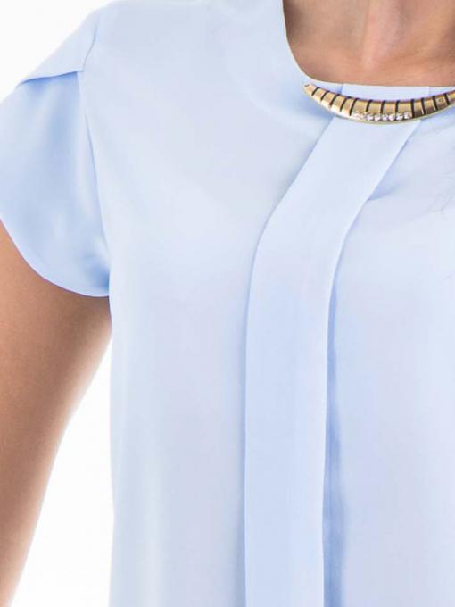 Дамска елегантна блуза JOVENNA 22462 - светло синя D