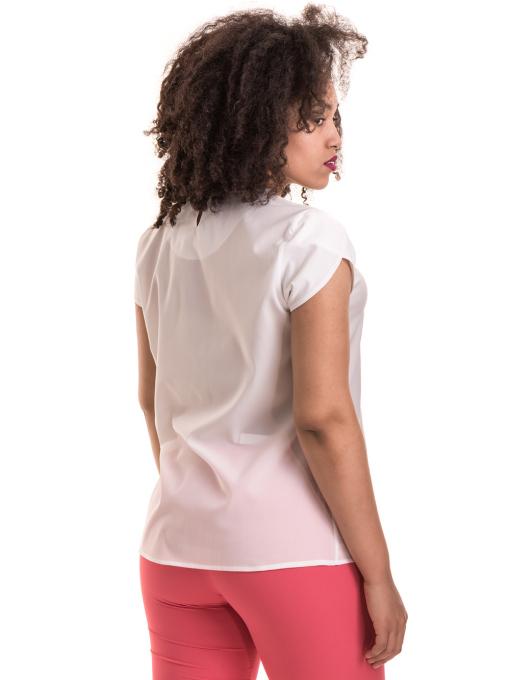Дамска елегантна блуза JOVENNA B22462 - цвят екрю B