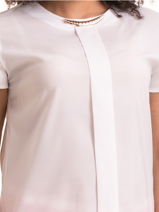 Дамска елегантна блуза JOVENNA B22462 - цвят екрю D