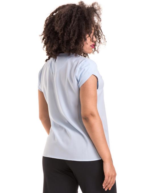 Дамска елегантна блуза JOVENNA B22462 - светло синя B