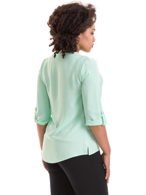 Дамска елегантна блуза с 3/4 ръкав  JOVENNA B22771 - цвят резеда B