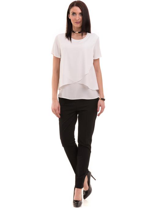 Дамска елегантна блуза KOTON 63413 - бяла C