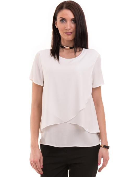 Дамска елегантна блуза KOTON 63413 - бяла