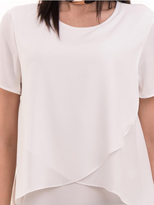 Дамска елегантна блуза KOTON 63413 - бяла D